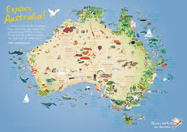 download travel map of australia  major tourist attractions maps