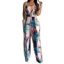 GreatestPAK <b>Womens Sexy</b> Casual Clubwear Wide Leg Playsuit ...