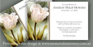 Thank You Sympathy Cards Memories Personalized Sympathy Thank You Cards Click View