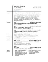 Resume Templates For Word 2007 Mesmerizing Word Template Resume Microsoft Word 44 Resume Template Resume