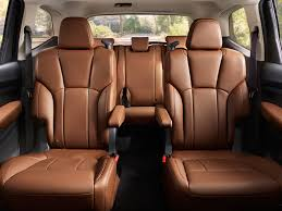 2019 subaru ascent 2nd row captain s chairs