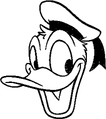Small Picture Disney Character Donald Duck Coloring Pages Womanmatecom