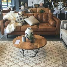Brown Leather Couch Decor Best Leather Couch Decorating Ideas On