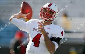 Boston College Football Depth Chart 2013 Pete Thomas North Carolina State Quarterback Pete Editorial