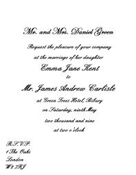 Sample Wedding Invitation Wording Wedding Invitation Wording Etiquette