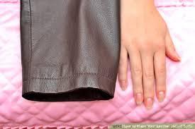 image titled make your leather jacket softer step 1