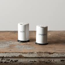 salt and pepper shakers. Stoneware Salt \u0026 Pepper Shakers And