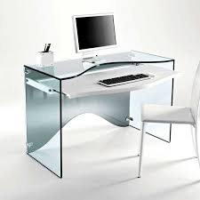 home office glass desk. Gorgeous Office Glass Table And Chairs Strata Transparent Desk Interior Furniture: Full Size Home