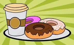 Image result for doughnuts and coffee