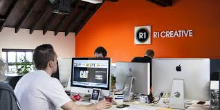 creative agency office. Growing Digital Agency R1 Creative Celebrates First Year With New Home And RAR Award Office