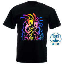 Black Light T Shirts Clothing Us 8 99 10 Off 100 Dancing Mates Rave Psy Trance Goa T Shirt Glows Uv Black Light Lsd Mushrooms In T Shirts From Mens Clothing On Aliexpress