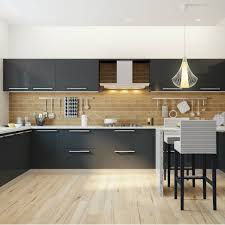 Small Kitchen Design With Breakfast Counter Sprawling Modular Kitchen With A Breakfast Counter Perfect