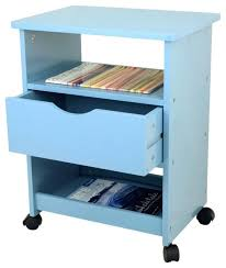 office coffee cart. Office Carts Rolling Cart With Drawer Blue Contemporary And Stands Coffee Service