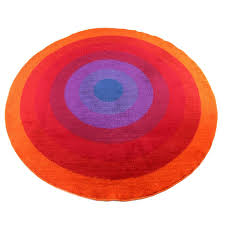 rare verner panton mira romantica largescale rug for sale at stdibs