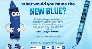 Small Picture Bluey McBlue Face Name Crayolas replacement for Dandelion CNET