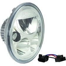 x lighting single 7 round vortex led headlight w low high halo