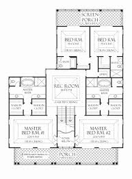 elegant house plans with 2 master suites