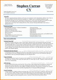 5 Cv Sample Word Document Theorynpractice Best Resume Template