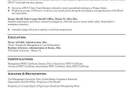 ... 210 x 140. Law Enforcement Instructor Resume Sample deputy sheriff
