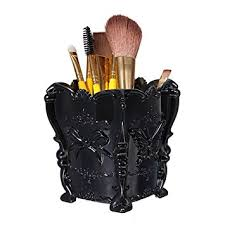 brush holder luckyfine erfly acrylic makeup holder box cosmetic storage holder organizer brush pencil pen containers