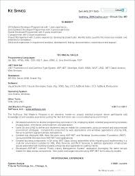 Qtp Sample Resume For Software Testers Beautiful Experienced