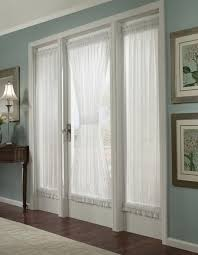 french door curtains diy