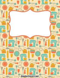 recipes binder cover. Interesting Binder Recipe Binder Cover Throughout Recipes 0