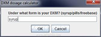 Download Dxm Dosage Calculator
