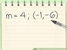 image titled use the slope intercept form in algebra step 11