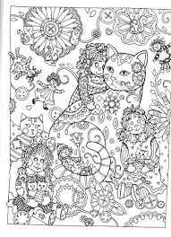 Creative Haven Creative Cats Dover Publications Coloring Color