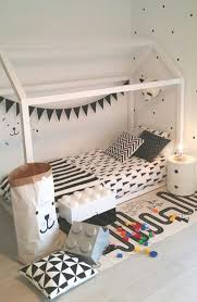 Bedroom: Inspiring Kids Floor Bed With Play Area - Kids Beds