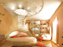 Nook Round Bed with Glowing Canopy