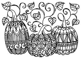 Halloween 3 Citrouilles Coloriage Halloween Coloriages Pour