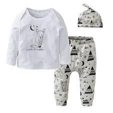 Autumn 2018 Newborn <b>Baby Boy</b> Clothes Cotton <b>Cartoon</b> T shirt+ ...