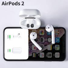 Tai Nghe Bluetooth Apple AirPods 2 rep 1:1 định vị,đổi tên ,thiết kế nguyên  khối . giá rẻ 599.000₫