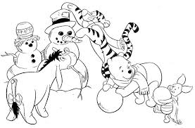 Small Picture winter scene coloring page free 608659 Coloring Pages for Free 2015