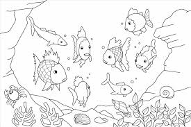 Small Picture Ocean Coloring Sheets Fish Printable Coloring Pages Design Of