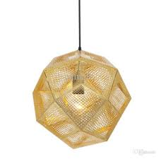 tom dixon etch light pendant lamp modern chandelier ceiling lamp brass pendant light gold silver ball lamp 22cm 32cm 47cm pendent light modern ceiling lamps