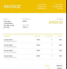 Uk Invoice Sample Business Invoice Template Google Docs Small Australia Free
