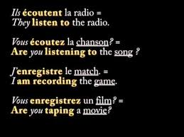 french er verbs french er verbs pronounced fast youtube