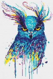 Owl Cross Stitch Pattern Awesome Owl Cross Stitch Pattern Beautiful Stitch Art CraftingNews