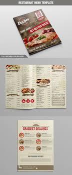 Menu Design Templates 20 Restaurant Menu Templates With Creative Designs