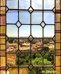 stained glass stickers stained glass sticker monuments stained glass window for doors