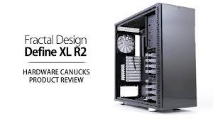 Fractal Design Define Xl Case Fractal Design Define Xl R2 Review
