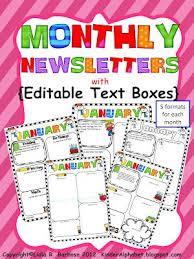 Weekly Newsletter Template Unique Teaching Blog Addict Teaching Blogs Pinterest Parent Teacher