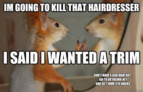 Bad Hair day memes | quickmeme via Relatably.com