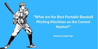 Top 4 Best Baseball Pitching Machines 2019 Reviews Expert
