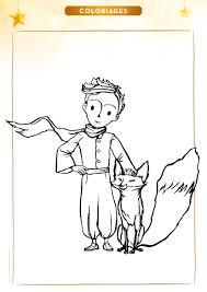 Coloriage Le Petit Prince Et Le Renard Le Petit Prince Le