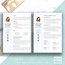 Creative Resume Templates For Microsoft Word Adorable Creative Resume Template Modern Word Cover Letter Curriculum For