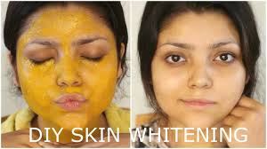 turmeric mask before after